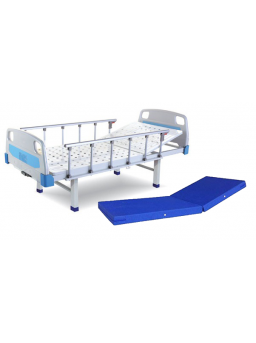 Basic Semi Fowler ABS Panel Hospital Bed With Mattress and Without Wheels For Rent