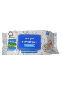 Canopus Premium Baby Wet Wipes (80 pieces)