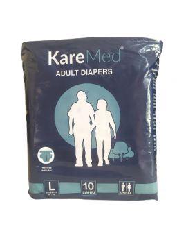KareMed Adult Diaper Sticker Type Large