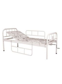 Basic Semi Fowler Hospital Bed with Mattress without Wheels For Rent